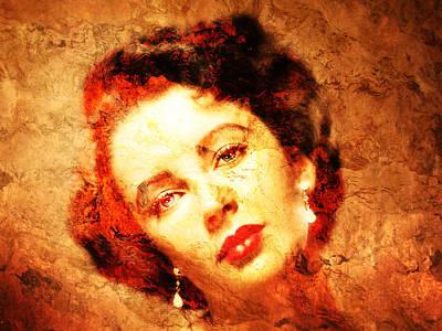 Liz Taylor Photograph - Elizabeth Taylor by J- J- Espinoza