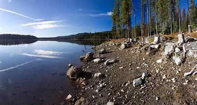 Elk Lake Oregon Art Print by Twenty Two North Photography