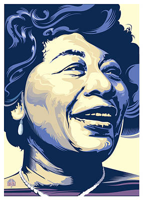 Jazz Royalty Free Images - Ella Fitzgerald Portrait 2 Royalty-Free Image by Garth Glazier