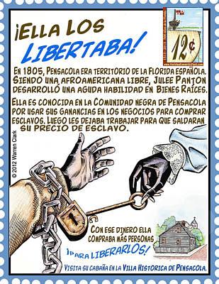 Ella Los Libertaba Art Print by Warren Clark