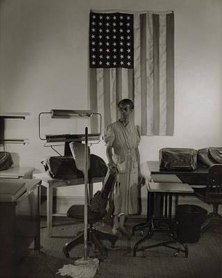 Ella Watson, A Cleaning Women Print by Everett