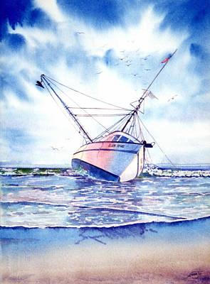 Painting - Ellen Marie by AnnaJo Vahle