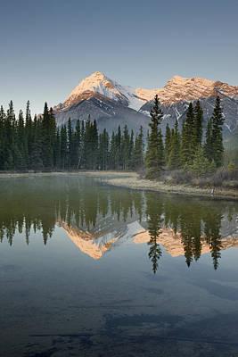 Kootenay Lake Photograph - Elliot Peak And Whitegoat Lakes by Darwin Wiggett