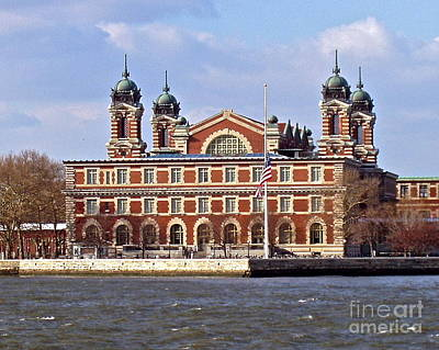 Photograph - Ellis Island Immigration Museum by Carol  Bradley