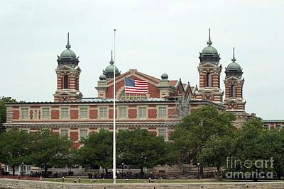 Photograph - Ellis Island by Living Color Photography Lorraine Lynch