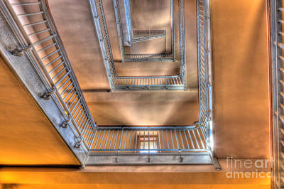 Photograph - Ellis Island Stairway I by Clarence Holmes