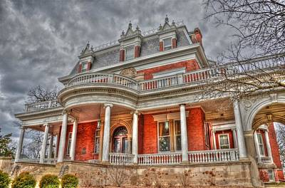 Ellwood Mansion Art Print by Dan Crosby