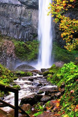 Photograph - Elowah Falls 2 by Albert Seger