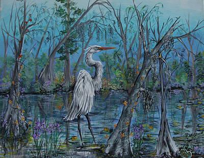 Elusive Swamp Art Print