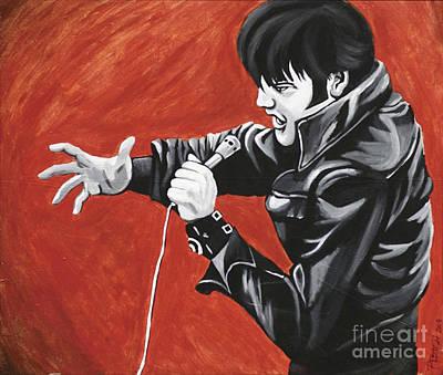 Painting - Elvis by Brenda Kato
