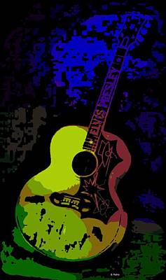 Photograph - Elvis Gibson J200 Guitar by George Pedro