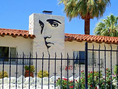 Photograph - Elvis Home In Palm Springs by Randall Weidner