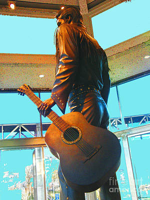 Photograph - Elvis In Bronze At Memphis by Lizi Beard-Ward