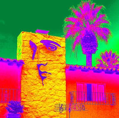 Photograph - Elvis Palm Springs 1 by Randall Weidner