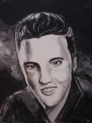 Elvis Art Print by Pete Maier
