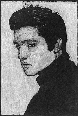 Elvis  Original by Robert Clement