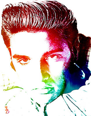 Elvis Presley Mixed Media - Elvis by The DigArtisT