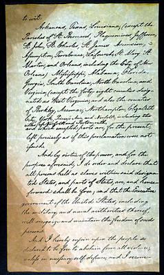 Emancipation Proc., P. 3 Art Print by Granger