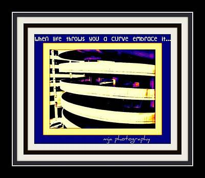 Photograph - Embrace Curves by Michelle Jacobs-anderson