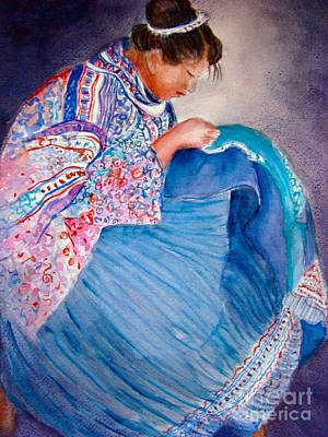 Chinese Embroidery Painting - Embroidery by Myra Evans