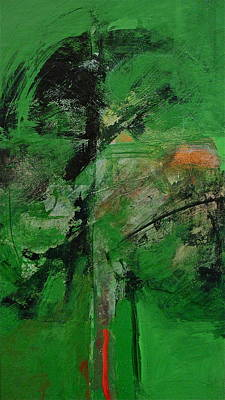 Painting - Emerald Green Stobor Vision by Cliff Spohn