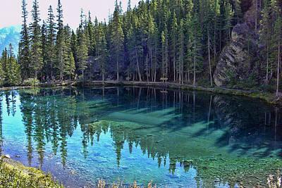 Emerald Mountain Pond Art Print by Jo-Anne Gazo-McKim