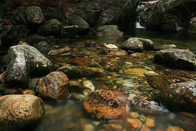 Photograph - Emerald Pool Wmnf by Benjamin Dahl