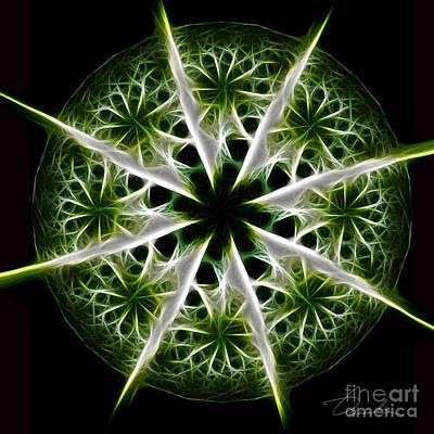 Digital Art - Emerald Tales by Danuta Bennett