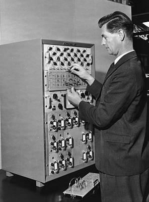 Emiac Mainframe Art Print by Archive Photos