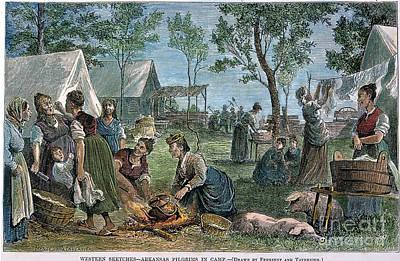 Emigrants: Arkansas, 1874 Art Print by Granger