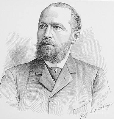 Emil Von Behring, German Immunologist Art Print by Science Source