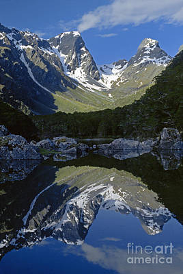 Photograph - Emily Peak - Routeburn Trak New Zealand by Craig Lovell