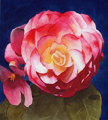 Painting - Emily's Flower by Ken Powers