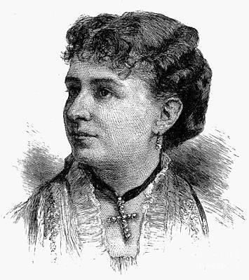 Emma Cecilia Thursby Art Print