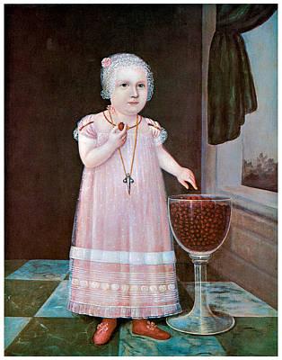 Fine Art In America Painting - Emma Van Name by Unknown