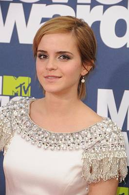 Emma Watson At Arrivals For The 20th Art Print