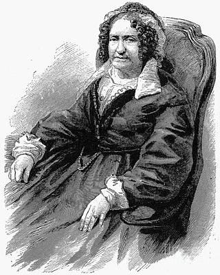 Emma Willard (1787-1870) Art Print by Granger