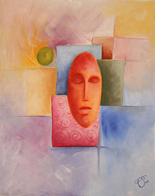 Emotion - 2008 Art Print by Simona  Mereu