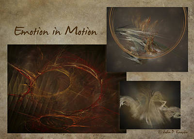 Digital Art - Emotion In Motion by John Knapko