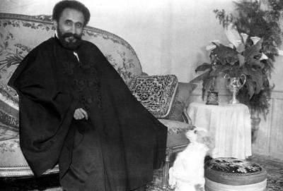Emperor Haile Selassie, Circa 1930-1935 Art Print by Everett