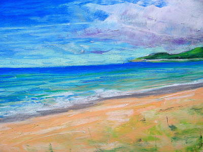 Pastel - Empire Beach by Lisa Dionne