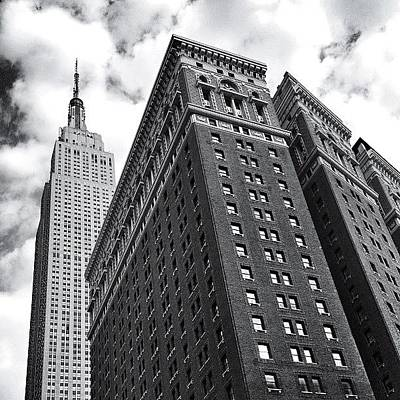 Manhattan Photograph - Empire State Building - New York City by Vivienne Gucwa