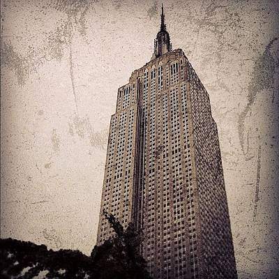 Skyscrapers Wall Art - Photograph - Empire State Building - New York by Joel Lopez