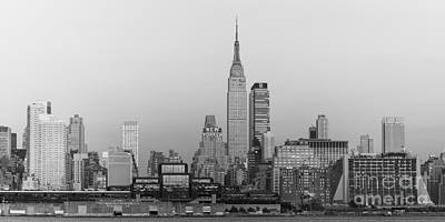 Photograph - Empire State Building And Skyline II by Clarence Holmes
