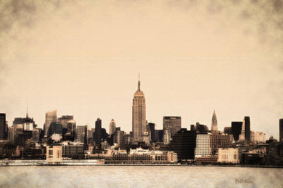 Empire State Building Art Print by Bill Cannon