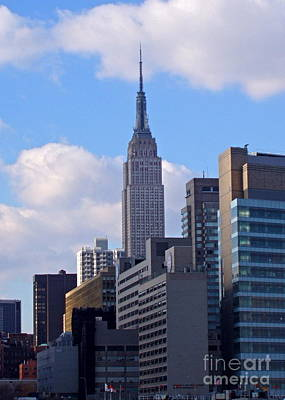 Photograph - Empire State Building by Carol  Bradley
