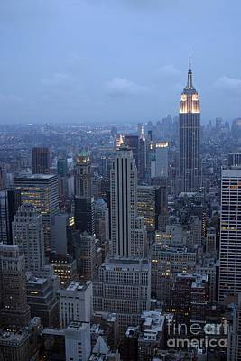 Photograph - Empire State Building by Living Color Photography Lorraine Lynch