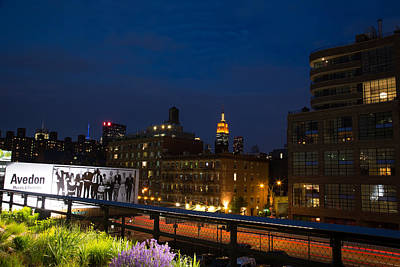Empire State From High Line Art Print by John Dryzga