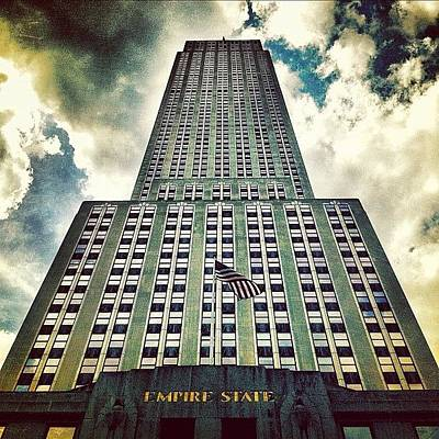 Time Photograph - Empire State by Luke Kingma