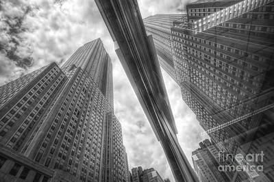 Photograph - Empire State Reflection by Yhun Suarez